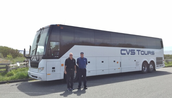 CVS Tours Coach