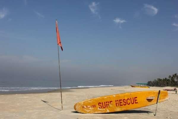 Colva Beach Goa India