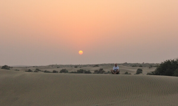 Desert Sunset Jaisalmer