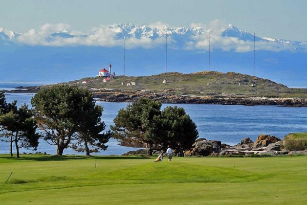 Golfing in Victoria BC