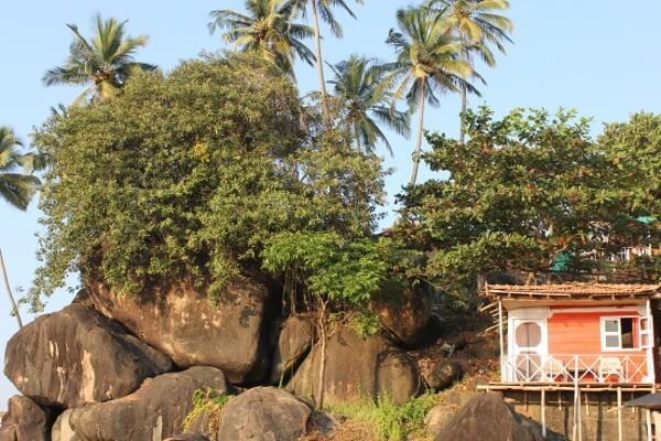 Palolem Beach Hut Goa