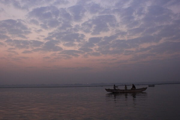 Sunrise in Varanasi India