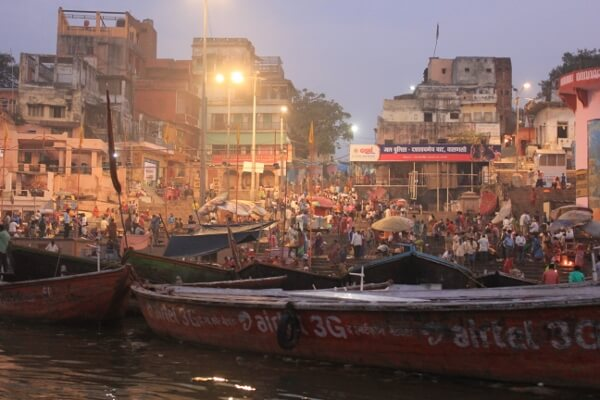 Varanasi Ghats at Sunrise