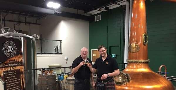 Victoria Caledonian Brewery & Distillery Sampling Tour