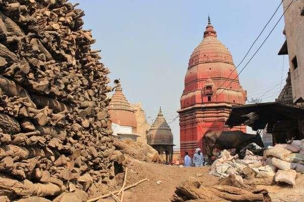 Manikarnika Ghat Varanasi India