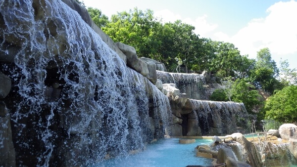 Nha Trang Vietnam Health & Wellness Resort Waterfall Pools