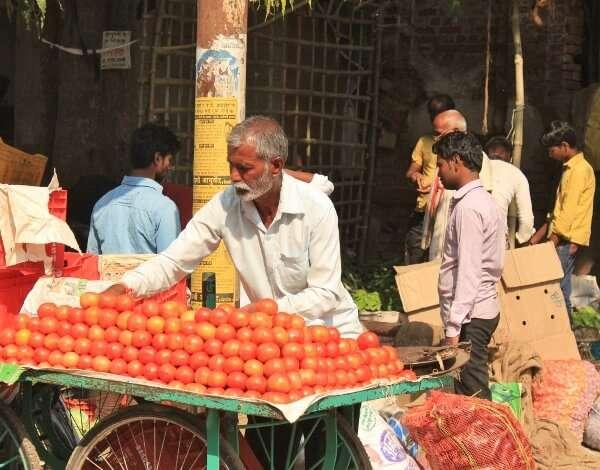 Street Vendors Varanasi India