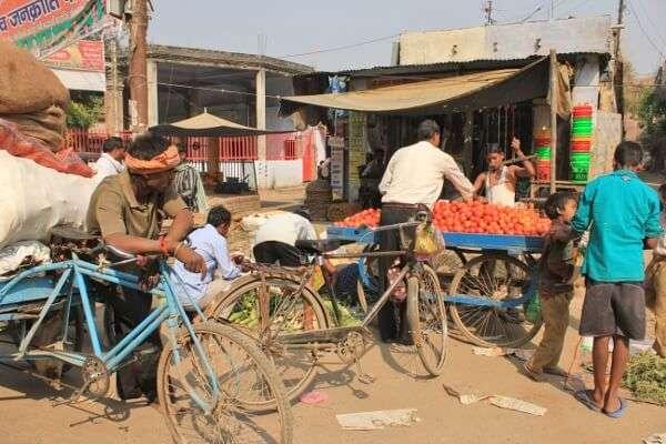 Street Vendors Varanasi