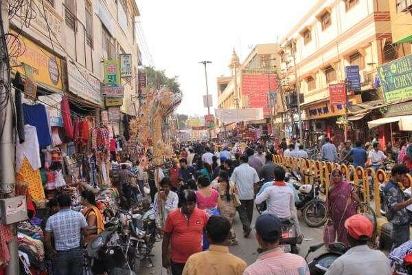 Streets of Varanasi India