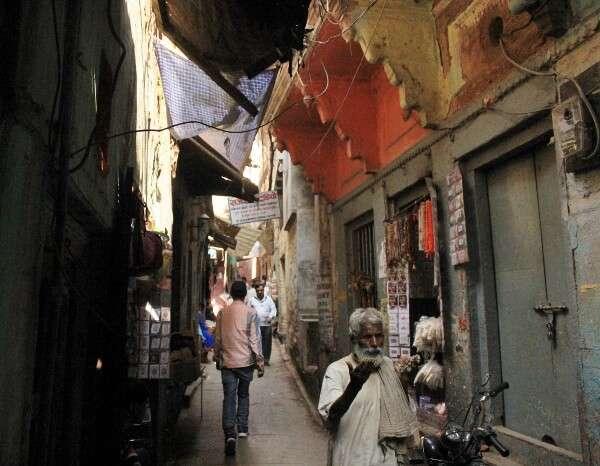 Varanasi India Alleys