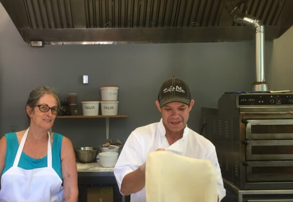 Salt Pizzeria Owners