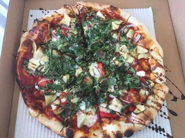 Salt Pizzeria Vegetarian Gourmet Pizza