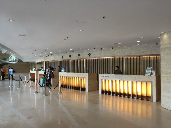 Courtyard Marriott Hong Kong Sha Lobby