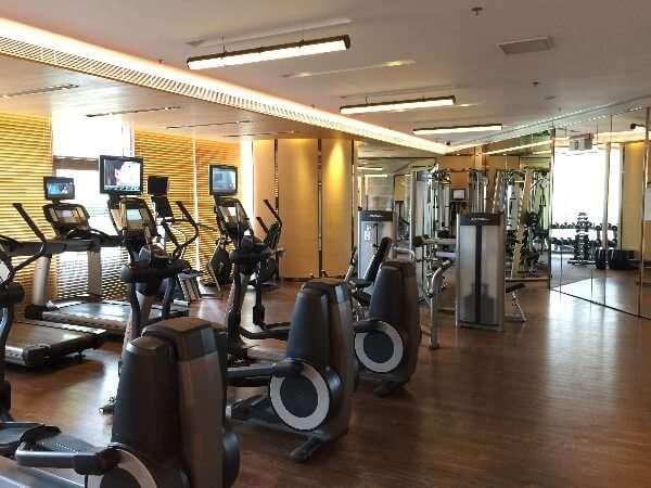 Courtyard Marriott Hong Kong Sha Tin Fitness Room