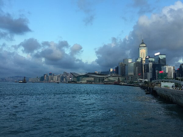 Hong Kong Sunset Skyline