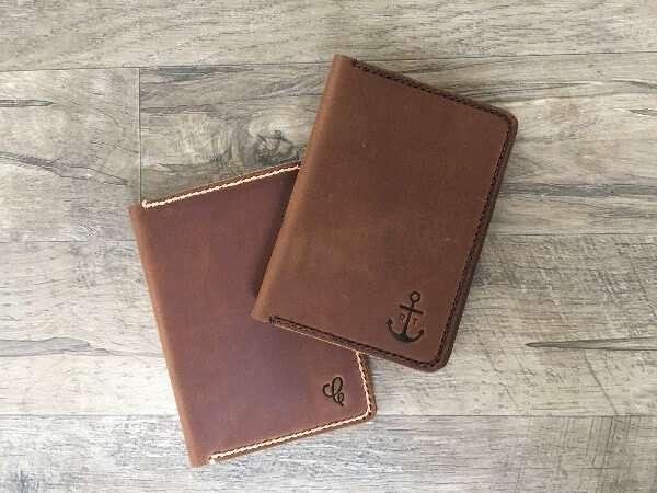 JooJoobs Handmade Leather Wallet
