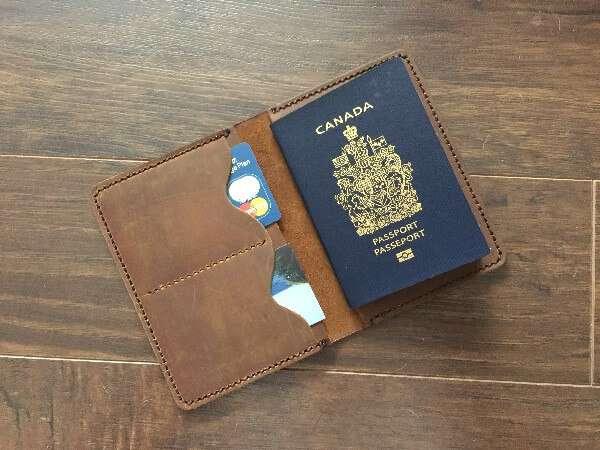 JooJoobs Leather Travel Wallets