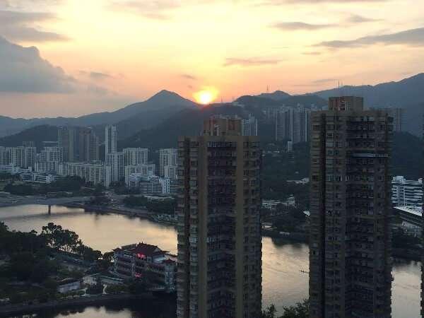 Sha Tin Hong Kong Skyline