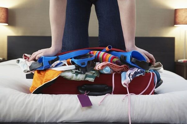 Overpacking For Vacation