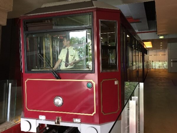 The Peak Tram Railcar
