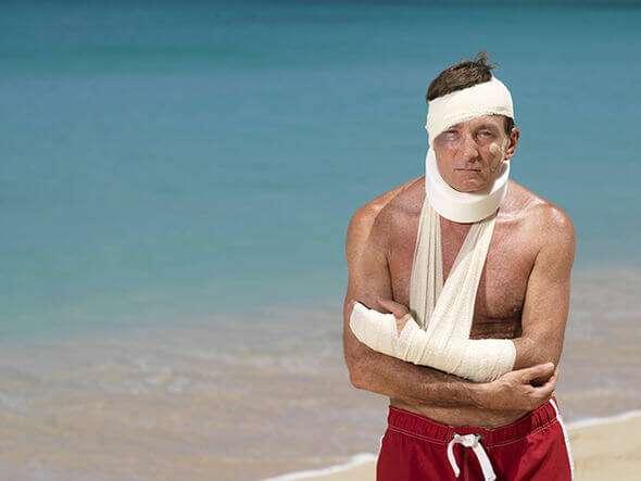 travel vacation injury