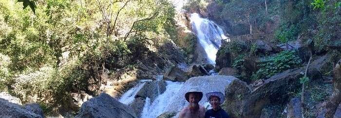 Cascadas Las Brisas Waterfalls Huatulco Mexico