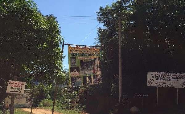 Cascadas Magicas De Copaliticca Sign