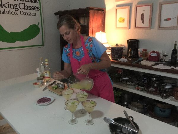 Chiles & Chocolate Cooking Classes Margaritas