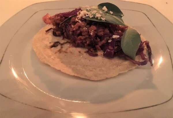 Huitlacoche Empanada with Chipotle Mayonnaise