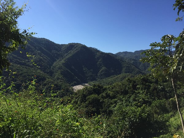 Sierra Madre Hills Mexico