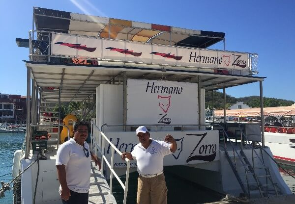Huatulco Catamaran Bays Tour Guide