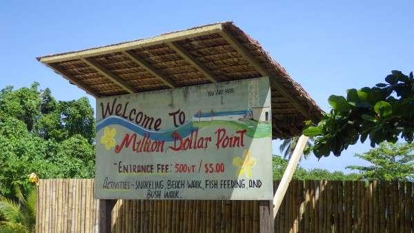 Million Dollar Point Vanuatu