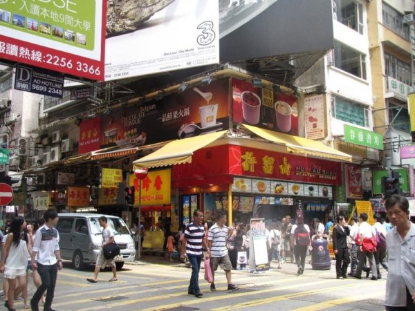 Mong Kok Shopping District