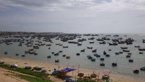 Mui Ne Fish Boats