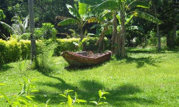 Old Boat In Vanuatu