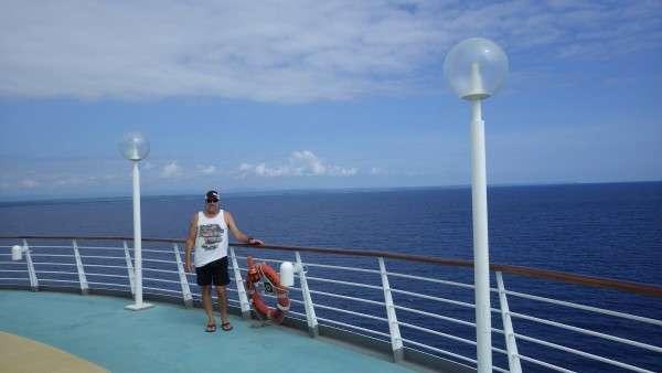 Royal Caribbean Cruise Ship Upper Deck