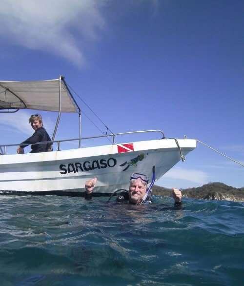 Sargaso Dive Boat