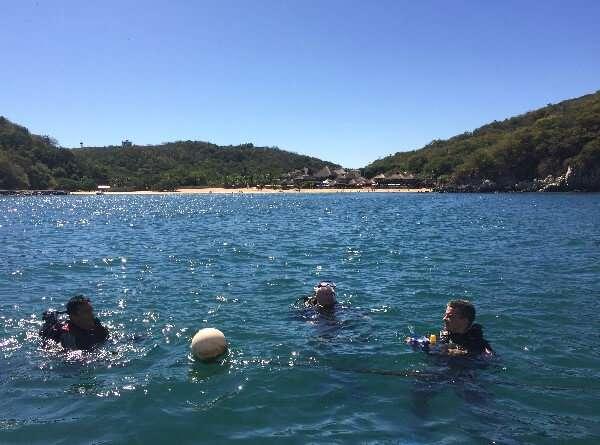 Scuba Diving Huatulco Mexico