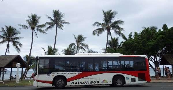 Shuttle Bus In Noumea