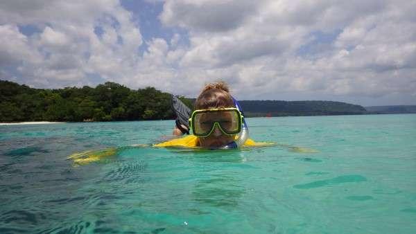 Snorkeling In Vanuatu
