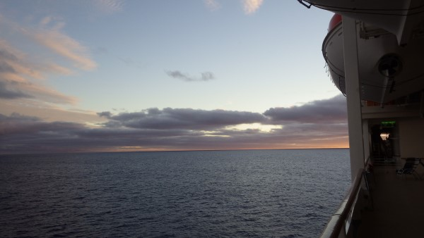 South Pacific Cruise Sunset Photo