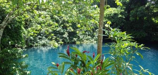 The Blue Hole Luganville Vanuatu