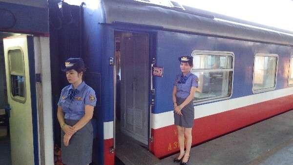 Vietnam Train Attendants