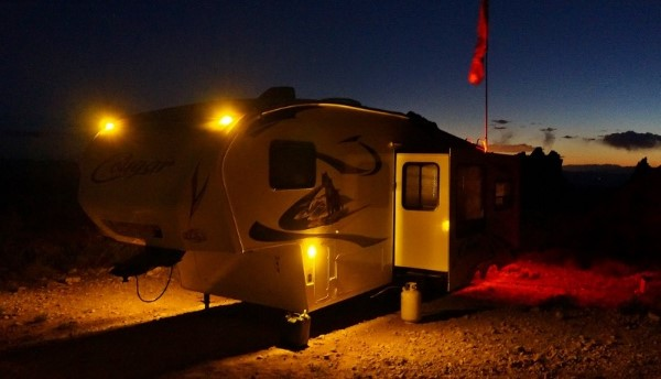 Bright Camping Trailer Lights