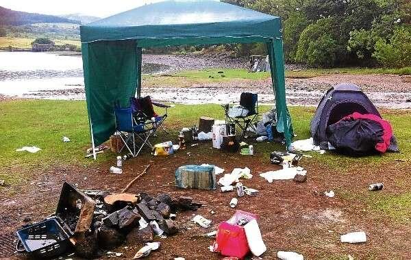 Campers Garbage