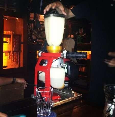 handle bar blender