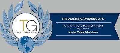2017 Luxury Travel Guide Award Banner