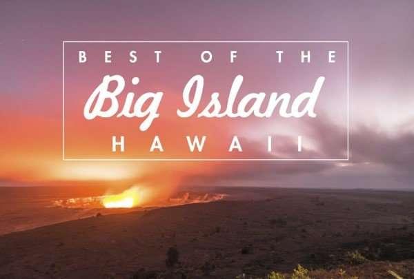 Big Island Hawaii Postcard