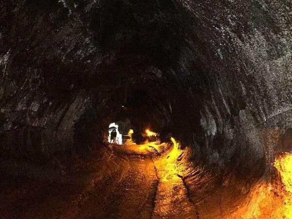 Hawaii Volcanoes National Park Lava Tube