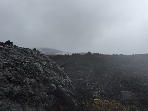 Hawaii Volcanoes National Park Solidified Lava Fields